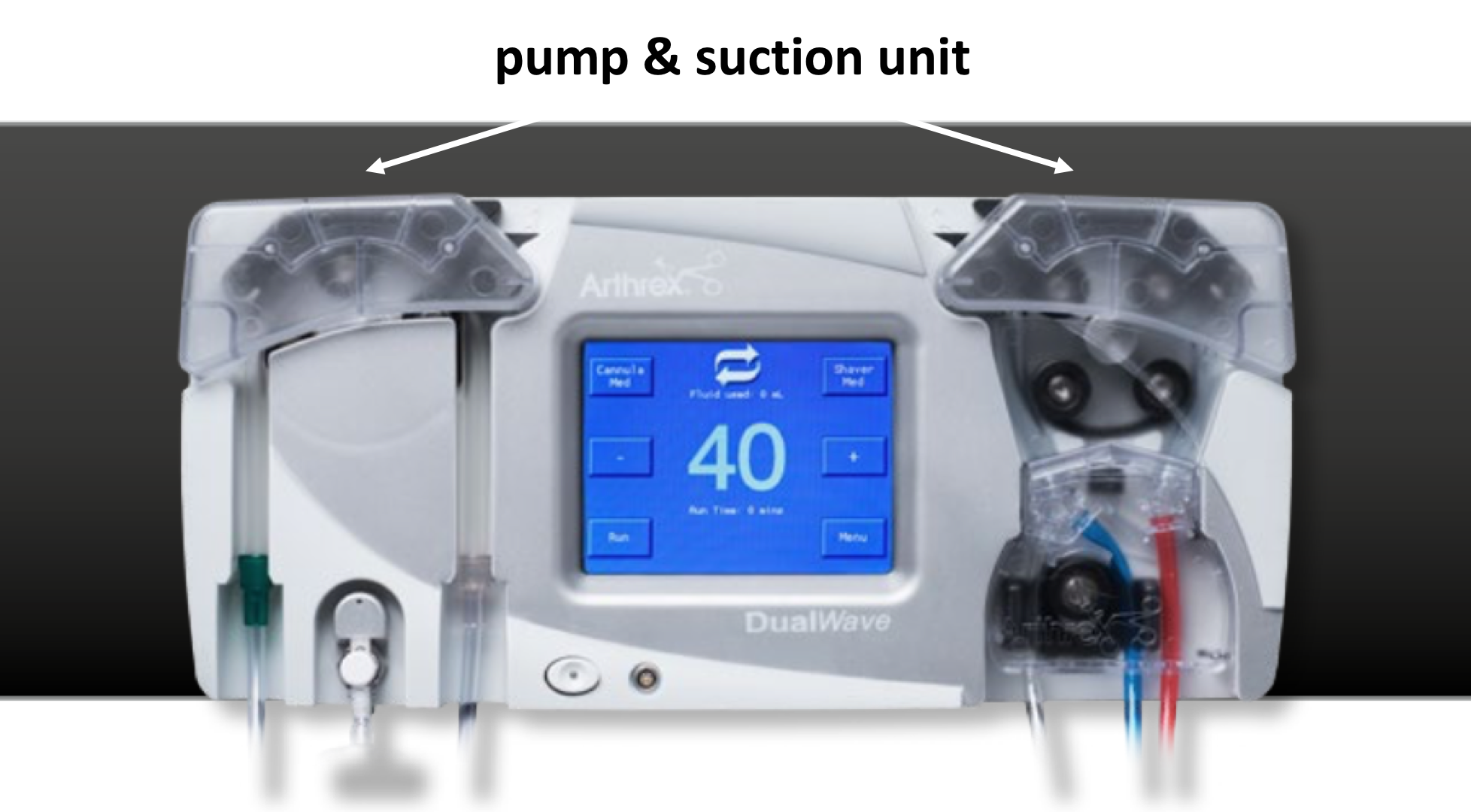 Fig 7. Arthroscopic Pump
